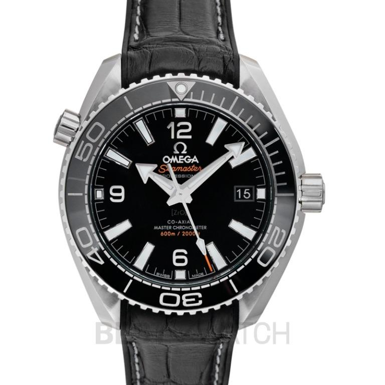 [NEW] Omega Seamaster Planet Ocean 600m Co-Axial Master Chronometer 39.5mm Automatic Black Dial Steel Mens Watch 215.33.40.20.01.001