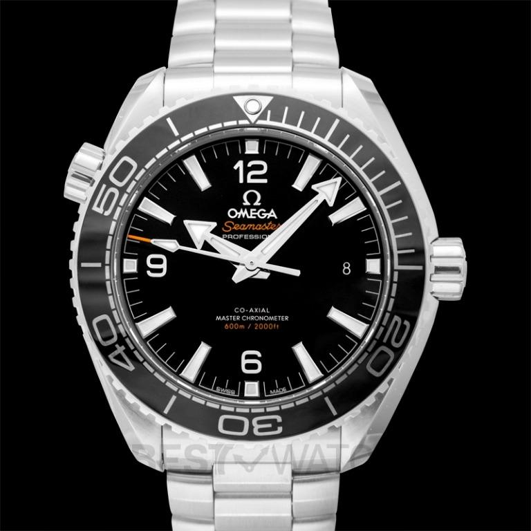 [NEW] Omega Seamaster Planet Ocean 600M Co-Axial Master Chronometer 43.5 mm Automatic Black Dial Steel Men's Watch 215.30.44.21.01.001