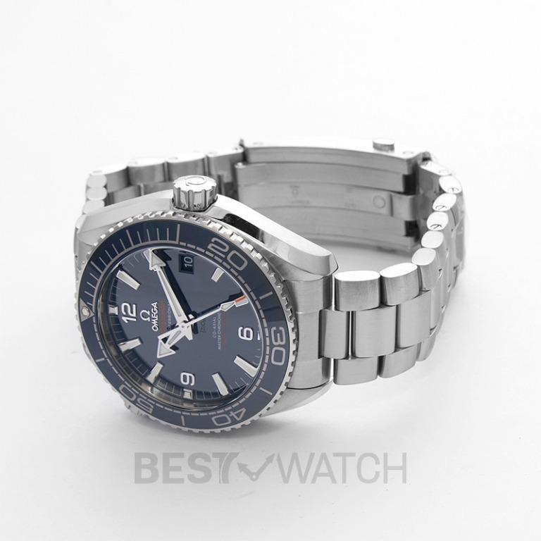 [NEW] Omega Seamaster Planet Ocean 600M Co-Axial Master Chronometer 43.5 mm Automatic Blue Dial Steel Men's Watch 215.30.44.21.03.001
