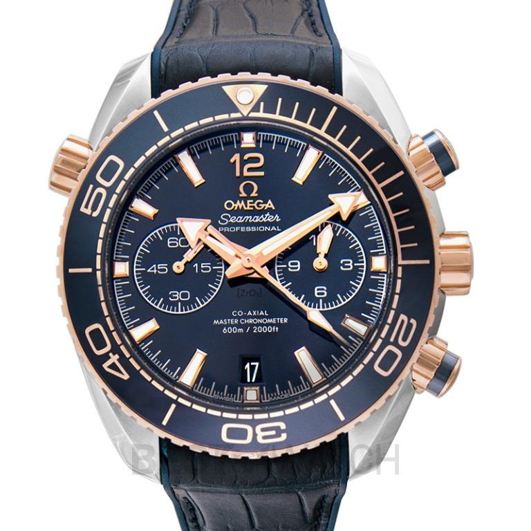 [NEW] Omega Seamaster Planet Ocean 600M Co-Axial Master Chronometer Chronograph 45.5 mm Blue Dial Gold Unisex Watch 215.23.46.51.03.001