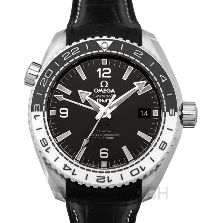 [NEW] Omega Seamaster Planet Ocean 600M Co-axial Master Chronometer GMT 43.5mm Automatic Black Dial Steel Men's Watch 215.33.44.22.01.001