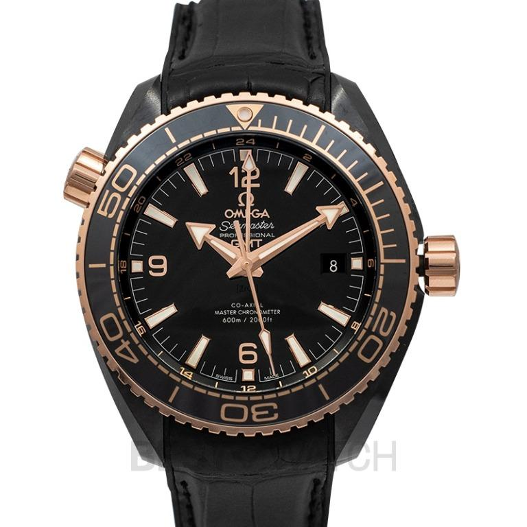 [NEW] Omega Seamaster Planet Ocean 600M Co-axial Master Chronometer GMT 45.5mm Automatic Black Dial Ceramic Men's Watch 215.63.46.22.01.001