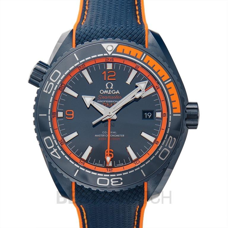 [NEW] Omega Seamaster Planet Ocean 600M Co‑axial Master Chronometer GMT 45.5 mm Automatic Blue Dial Blue ceramic Men's Watch 215.92.46.22.03.001