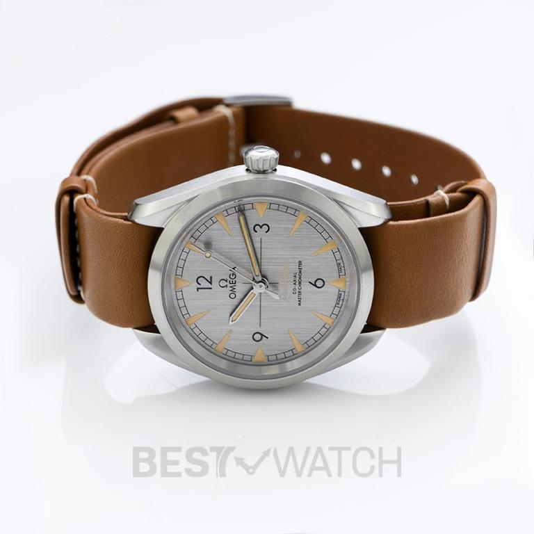 [NEW] Omega Seamaster Railmaster Co‑Axial Master Chronometer 40mm Automatic Grey Dial Steel Men's Watch 220.12.40.20.06.001