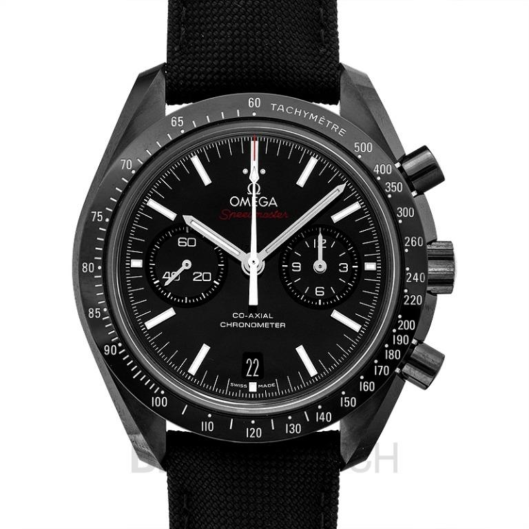 [NEW] Omega Speedmaster Moonwatch Co‑Axial Chronograph 44.25mm Automatic Black Dial Ceramic Men's Watch 311.92.44.51.01.003