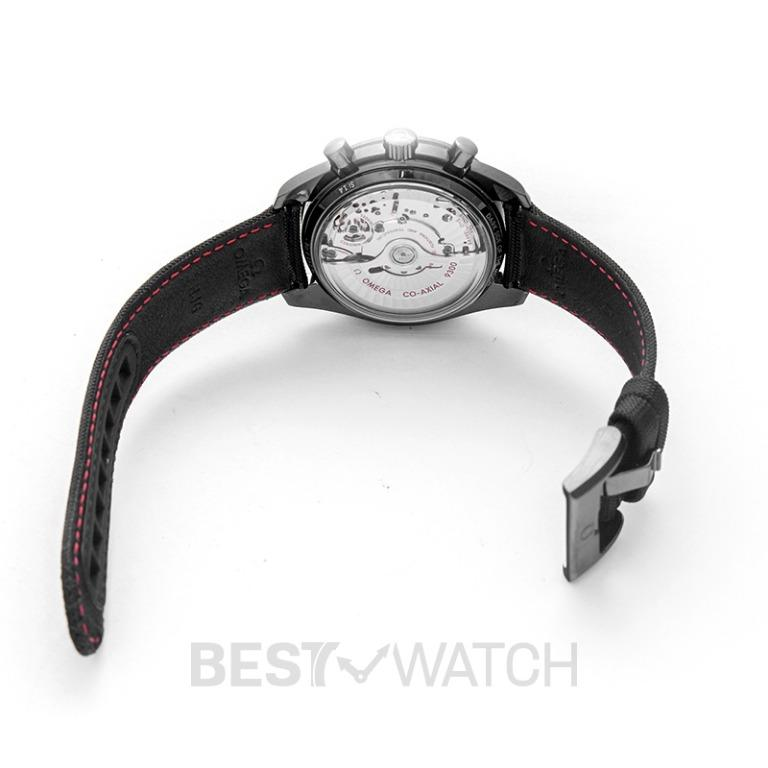 [NEW] Omega Speedmaster Moonwatch Co-Axial Chronograph 44.25mm Automatic Black Dial Ceramic Men's Watch 311.92.44.51.01.003