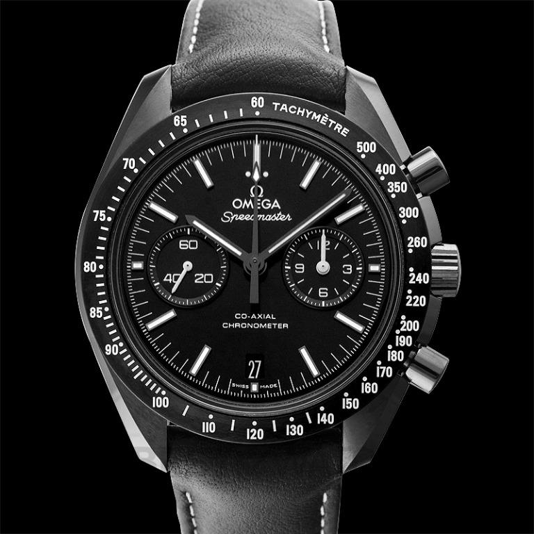 [NEW] Omega Speedmaster Moonwatch Co‑Axial Chronograph 44.25mm Automatic Black Dial Ceramic Men's Watch 311.92.44.51.01.004