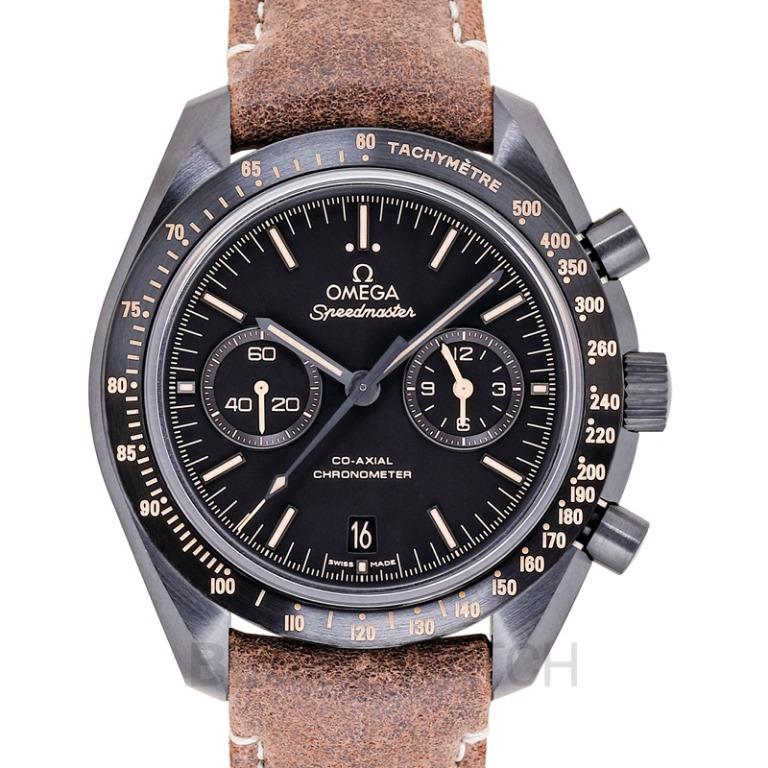 [NEW] Omega Speedmaster Moonwatch Co‑Axial Chronograph 44.25 mm Automatic Black Dial Ceramic Men's Watch 311.92.44.51.01.006
