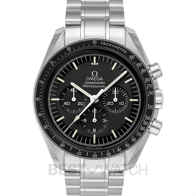 [NEW] Omega Speedmaster Moonwatch Professional Chronograph 42 mm Manual-winding Black Dial Stainless Steel Men's Watch 311.30.42.30.01.005