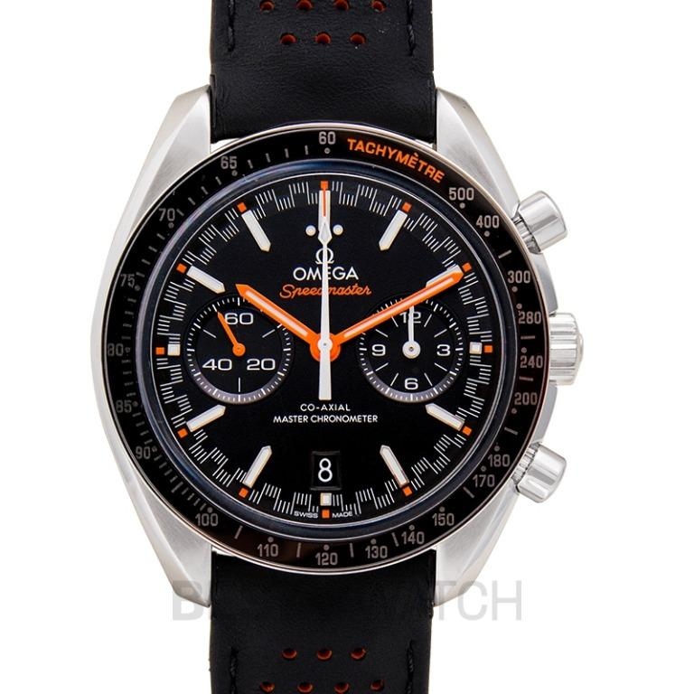 [NEW] Omega Speedmaster Racing Co-Axial Master Chronometer Chronograph 44.25mm Automatic Black Dial Steel Men's Watch 329.32.44.51.01.001