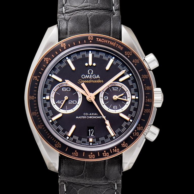 [NEW] Omega Speedmaster Racing Co‑Axial Master Chronometer Chronograph 44.25 mm Automatic Grey Dial Steel Men's Watch 329.23.44.51.06.001