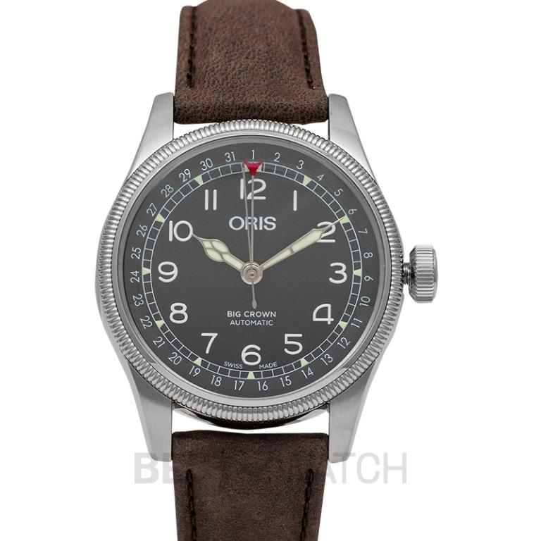 [NEW] Oris Big Crown Pointer Date Automatic Black Dial Men's Watch 01 754 7741 4064-07 5 20 64