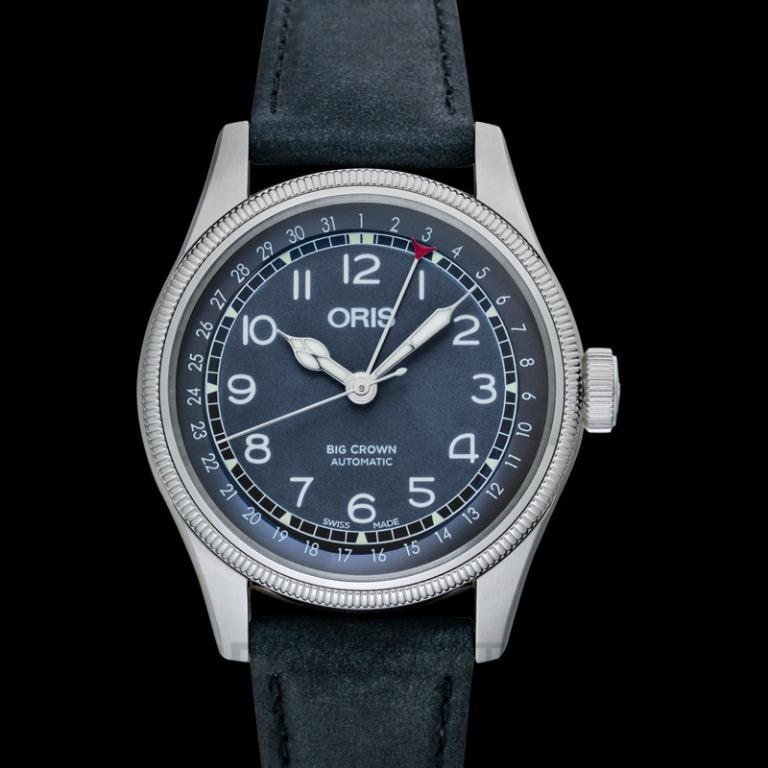 [NEW] Oris Big Crown Pointer Date Automatic Black Dial Men's Watch 01 754 7741 4064-07 5 20 65