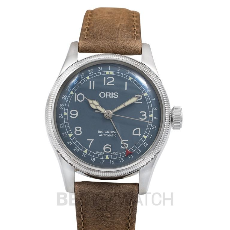 [NEW] Oris Big Crown Pointer Date Automatic Blue Dial Men's Watch 01 754 7741 4065-07 5 20 63