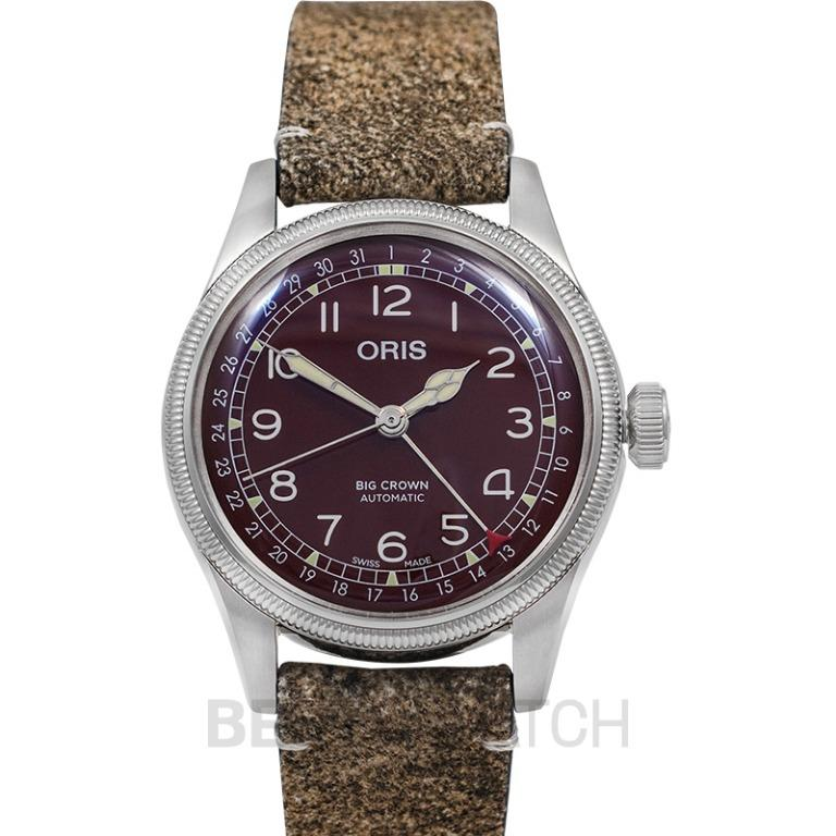 [NEW] Oris Big Crown Pointer Date Automatic Red Dial Men's Watch 01 754 7741 4068-07 5 20 50