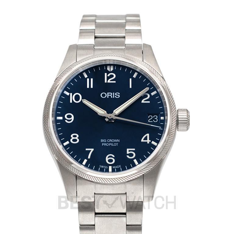 [NEW] Oris Big Crown ProPilot Big Date Automatic Blue Dial Men's Watch 01 751 7697 4065-07 8 20 19