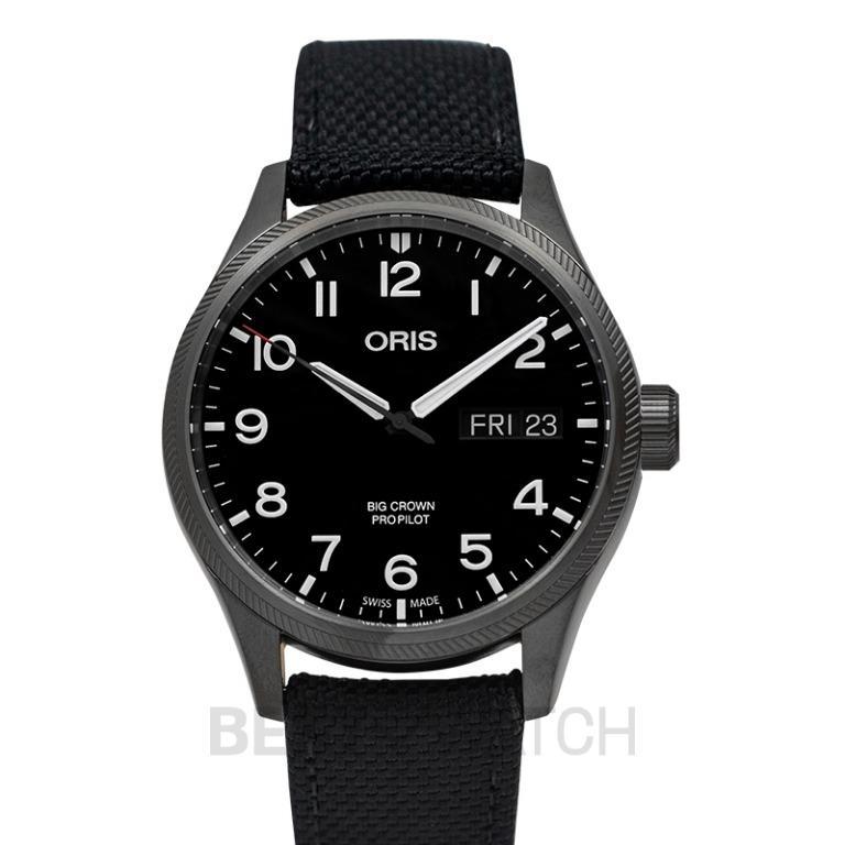 [NEW] Oris Big Crown ProPilot Big Day Date Automatic Black Dial Men's Watch 01 752 7698 4264-07 5 22 15GFC