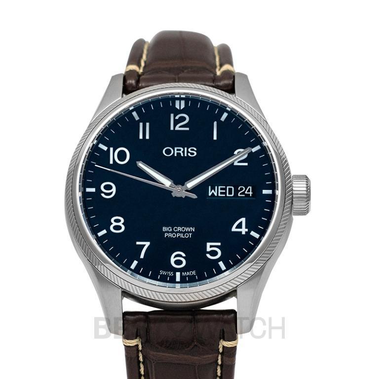 [NEW] Oris Big Crown ProPilot Big Day Date Automatic Blue Dial Men's Watch 01 752 7698 4065-07 1 22 72FC