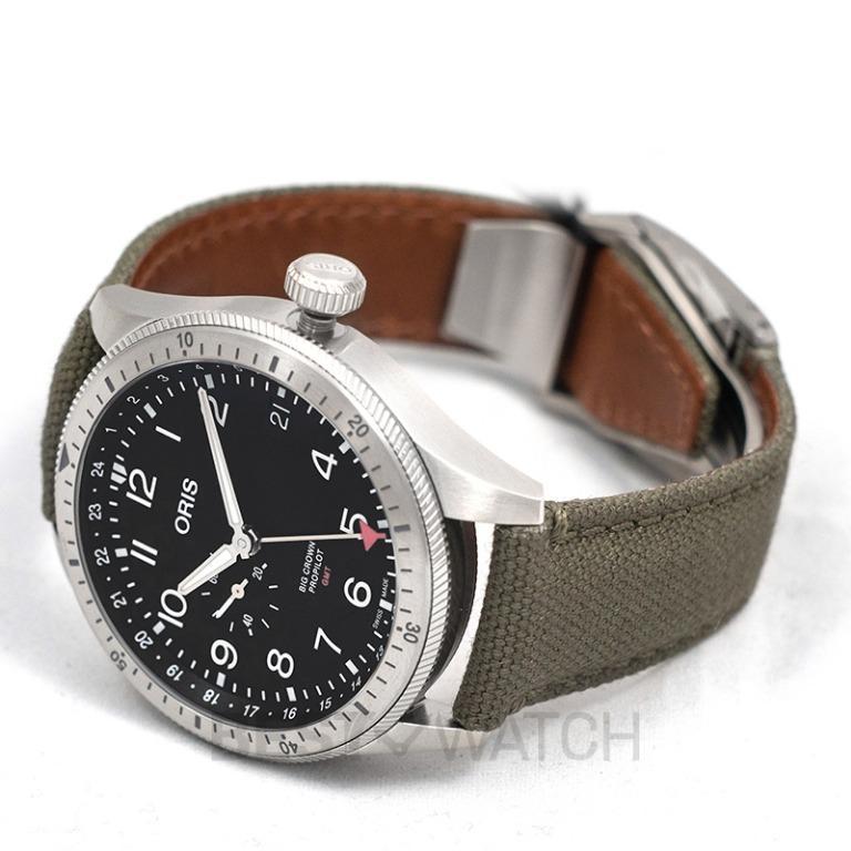 [NEW] Oris Big Crown ProPilot Timer GMT Automatic Black Dial Men's Watch 01 748 7756 4064-07 3 22 02LC