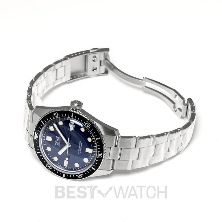 [NEW] Oris Divers Sixty-Five Automatic Blue Dial Bracelet Men's Watch 01 733 7720 4055-07 8 21 18