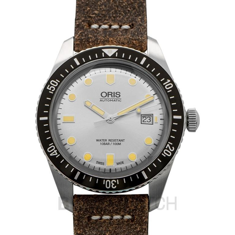 [NEW] Oris Divers Sixty-Five Automatic Silver Dial Strap Men's Watch 01 733 7720 4051-07 5 21 02