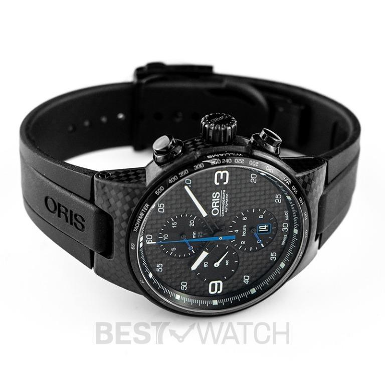 [NEW] Oris Williams F1 Team Limited Edition Automatic Black Dial Men's Watch 01 674 7725 8784-Set 4 24 50BT