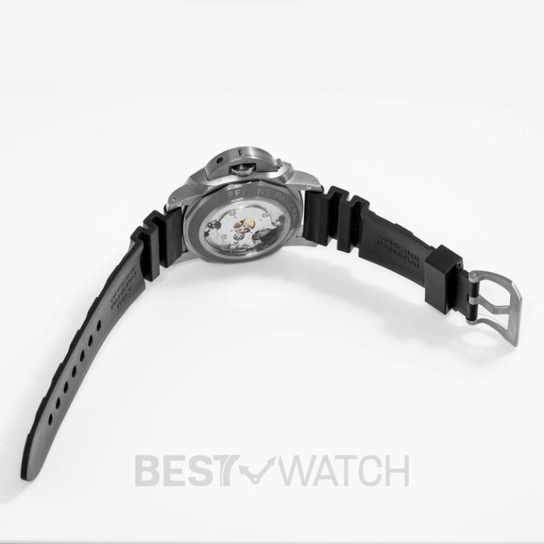 [NEW] Panerai Luminor 1950 Rattrapante 8 Days Titanio 47mm Manual-winding Black Dial Men's Watch PAM00530