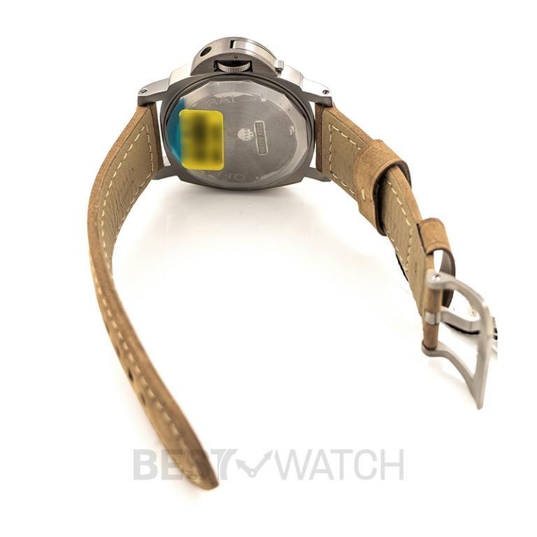 [NEW] Panerai Luminor 8 Days Power Reserve Manual-winding Brown Dial 44 mm Men's Watch PAM00797