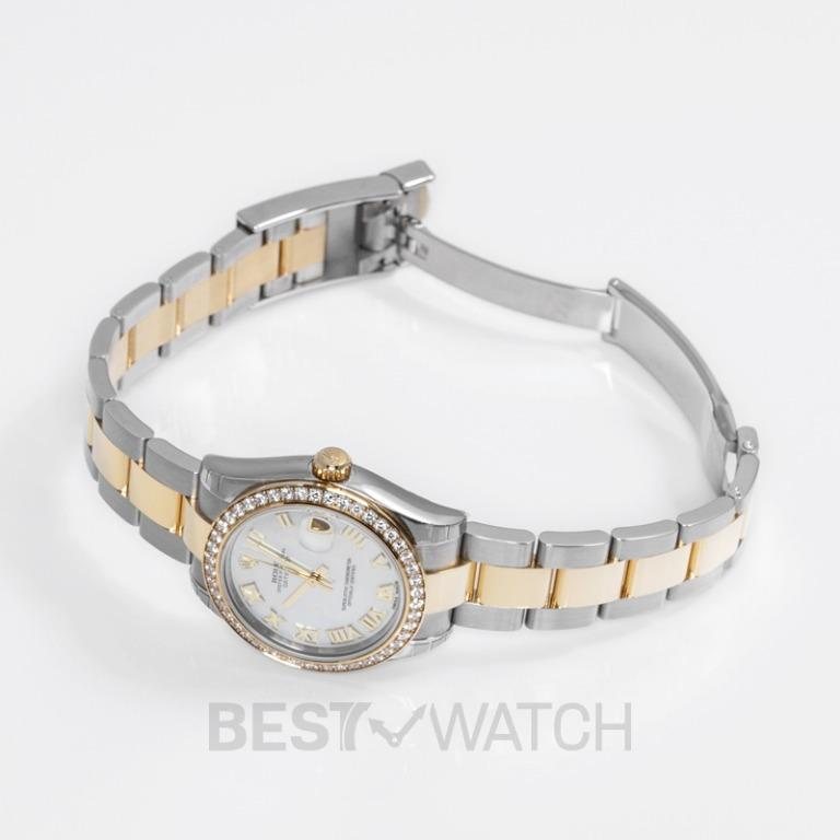 [NEW] Rolex Datejust 31 Steel And 18ct Yellow Gold Automatic Mother Of Pearl Dial Ladies Watch 178383-0015