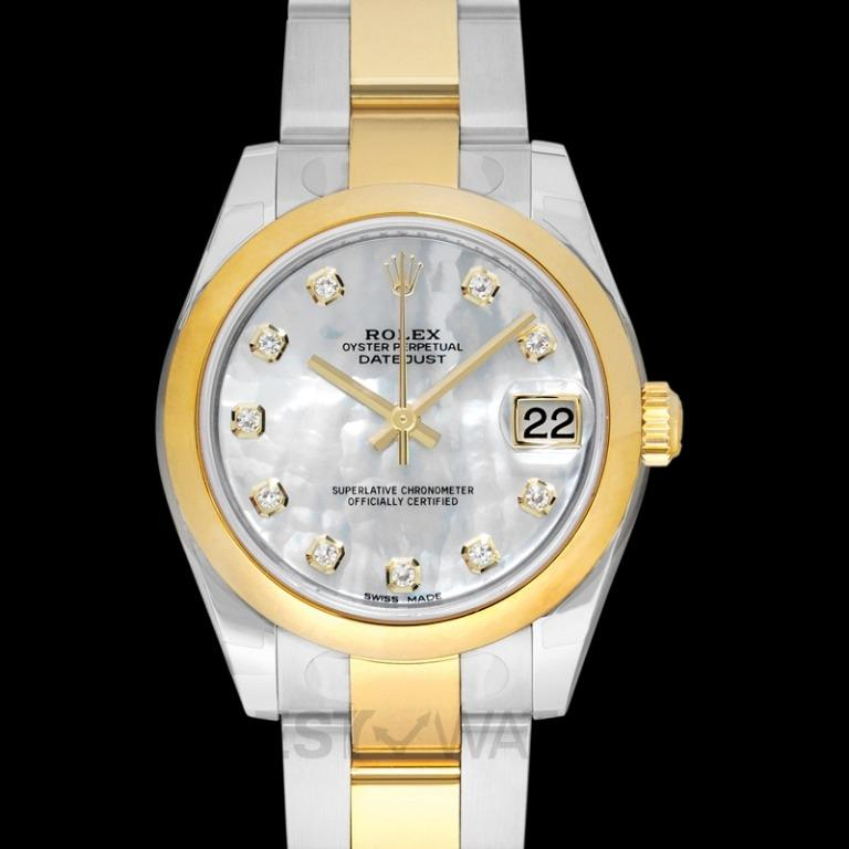 [NEW] Rolex Datejust Lady 31 Steel And 18ct Yellow Gold Automatic Mother Of Pearl Dial Ladies Watch 178243-0001G
