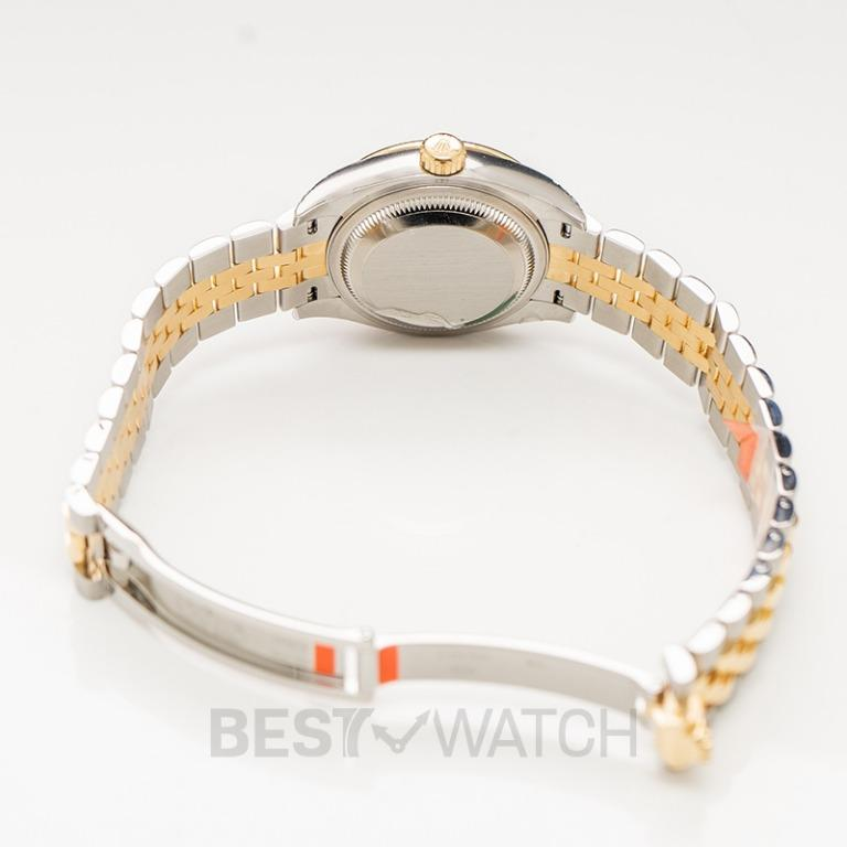 [NEW] Rolex Lady-Datejust Steel And 18ct Yellow Gold Automatic Champagne Dial Ladies Watch 279383RBR-0009G