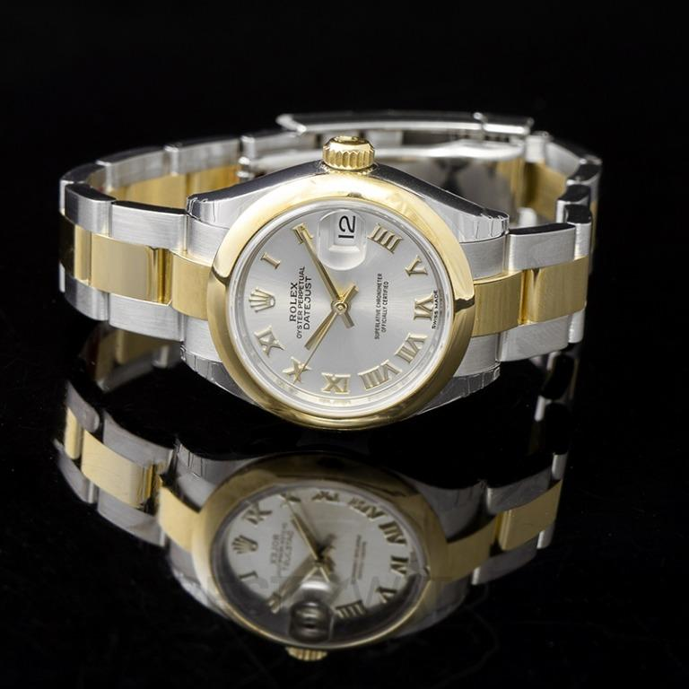 [NEW] Rolex Oyster Perpetual Steel And 18ct Yellow Gold Automatic Silver Dial Ladies Watch 279163-0006