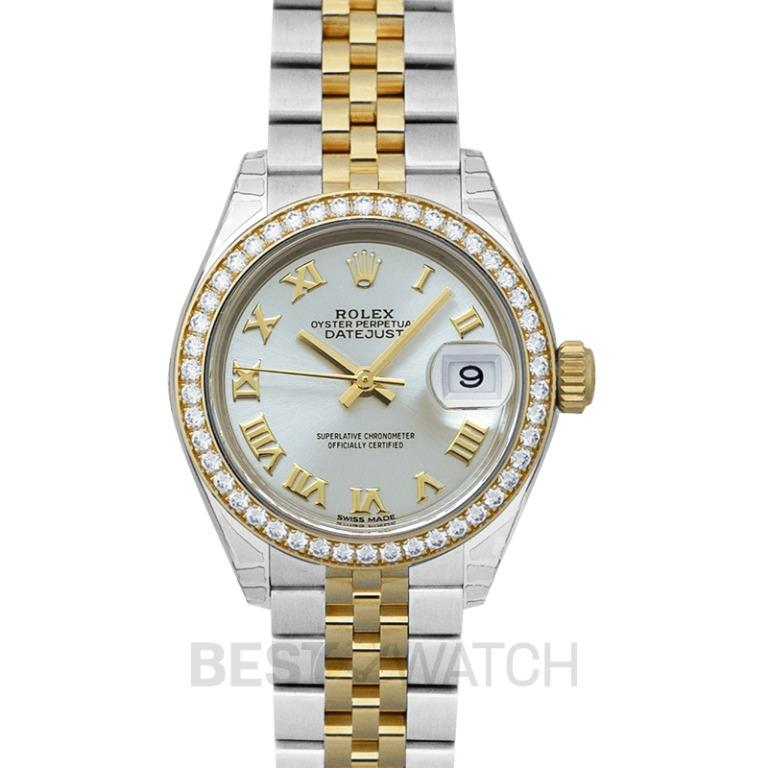 [NEW] Rolex Oyster Perpetual Steel And 18ct Yellow Gold Automatic Silver Dial Ladies Watch 279383RBR-0005