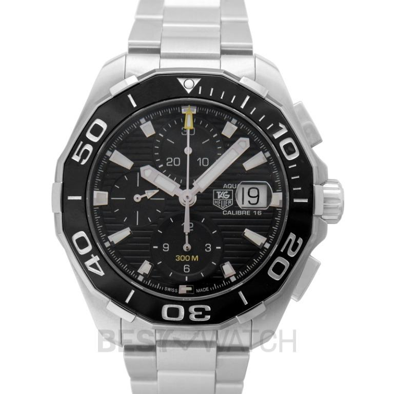 [NEW] TAG Heuer Aquaracer Calibre 16 Automatic Chronograph Black Dial Men's Watch CAY211A.BA0927