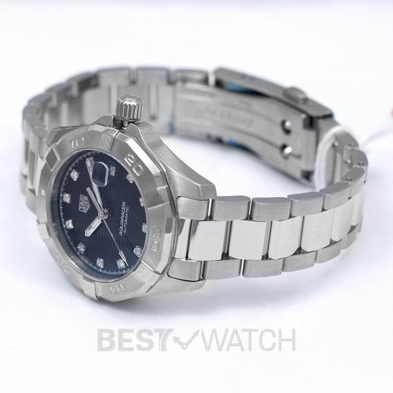 [NEW] TAG Heuer Aquaracer Calibre 9 Automatic Black Dial with Diamonds Ladies Watch WBD2312.BA0740