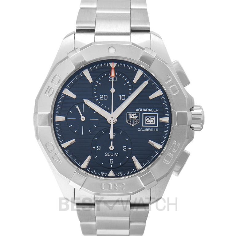 [NEW] TAG Heuer Aquaracer Chronograph Calibre 16 Automatic Blue Dial Men's Watch CAY2112.BA0927
