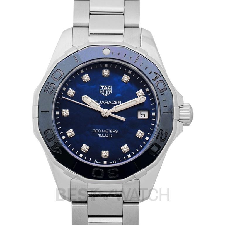 [NEW] TAG Heuer Aquaracer Quartz Mother Of Pearl Dial with Diamonds Ladies Watch WAY131L.BA0748