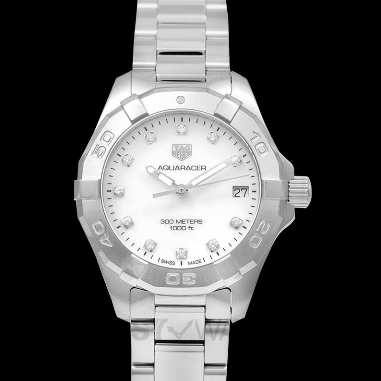 [NEW] TAG Heuer Aquaracer Quartz Mother Of Pearl Dial with Diamonds Ladies Watch WBD1314.BA0740