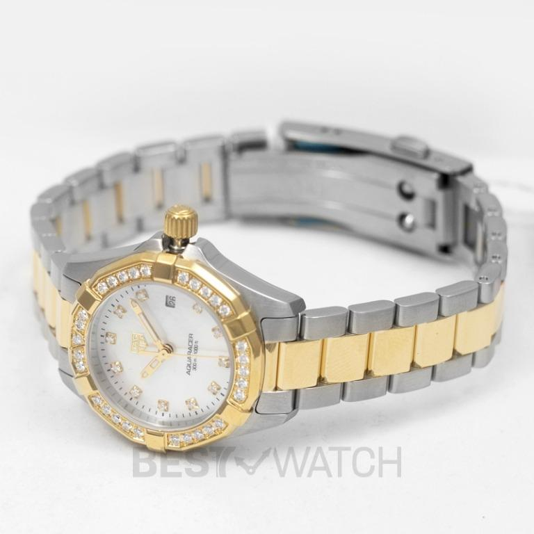 [NEW] TAG Heuer Aquaracer Quartz Mother Of Pearl Dial with Diamonds Ladies Watch WBD1423.BB0321