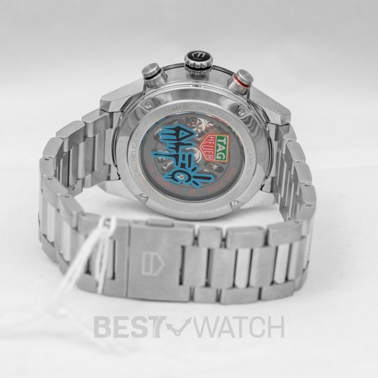 [NEW] TAG Heuer Carrera Calibre Heuer01 Alec Monopoly Special Edition Automatic Multicolored Dial Men's Watch CAR201AA.BA0714
