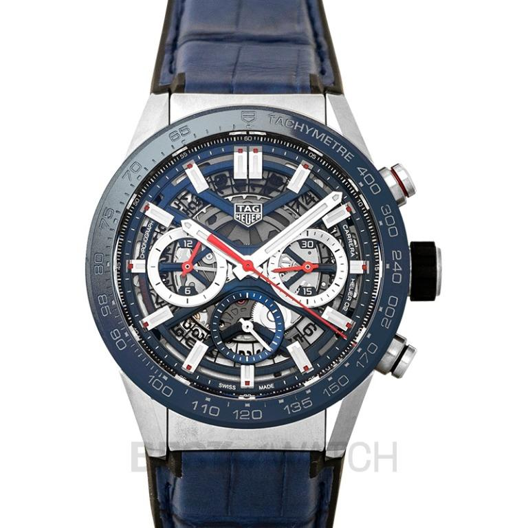 [NEW] TAG Heuer Carrera Calibre Heuer 02 43mm Automatic Skeleton Dial Men's Watch CBG2011.FC6430