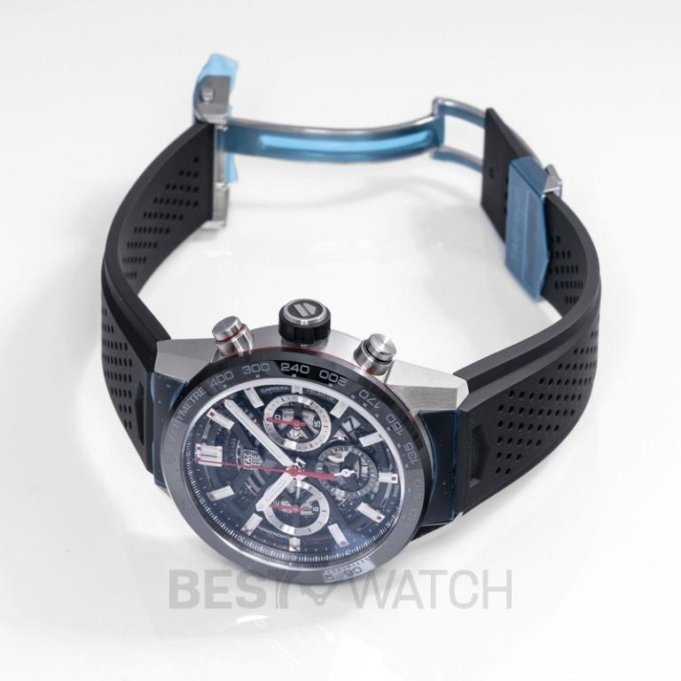 [NEW] TAG Heuer Carrera Calibre Heuer 02 Automatic Black Skeleton Dial Men's Watch CBG2010.FT6143