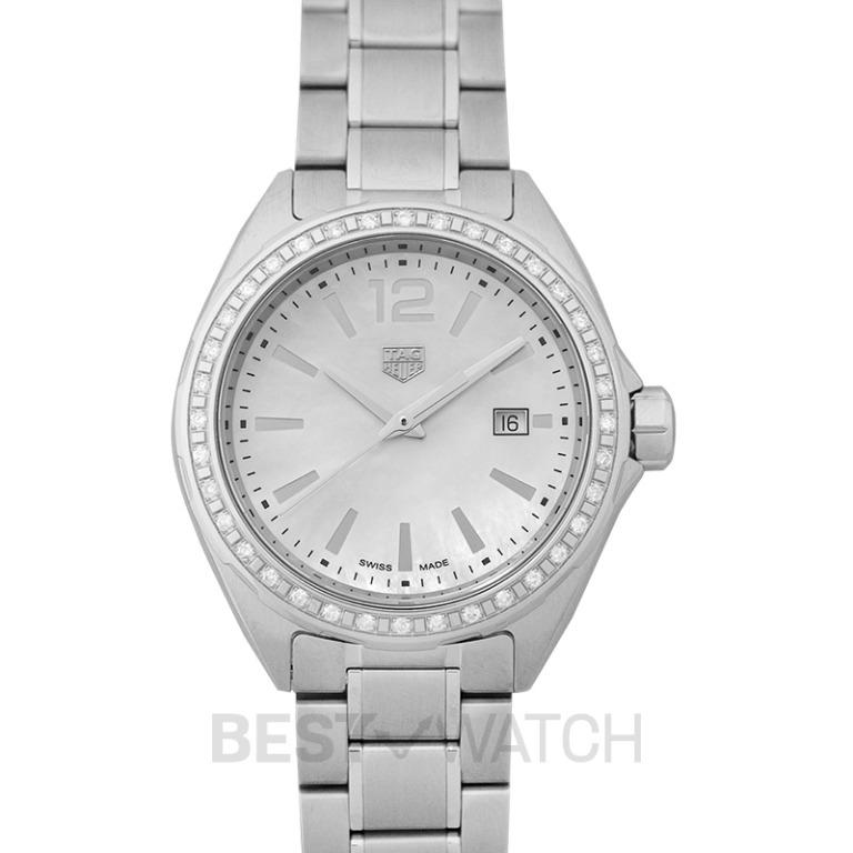 [NEW] TAG Heuer Formula 1 Ladies Quartz Mother Of Pearl Dial with Diamonds Ladies Watch WBJ141A.BA0664