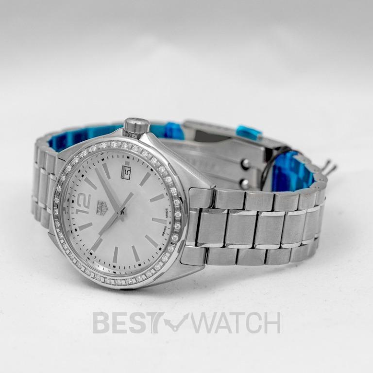 [NEW] TAG Heuer Formula 1 Quartz Mother Of Pearl Dial with Diamonds Bezel Ladies Watch WBJ131A.BA0666