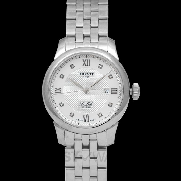 [NEW] Tissot T-Classic Le Locle Automatic Lady (29.00) Automatic Silver Dial Diamond Indexes Ladies Watch T006.207.11.036.00