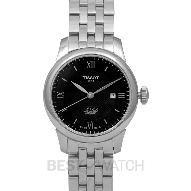 [NEW] Tissot T-Classic Le Locle Automatic Lady (29.00) Automatic Black Dial Ladies Watch T006.207.11.058.00