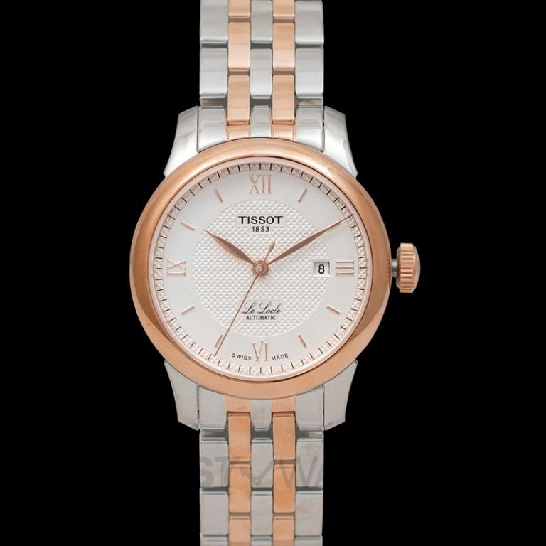 [NEW] Tissot T-Classic Le Locle Automatic Lady (29.00) Automatic Silver Dial Ladies Watch T006.207.22.038.00