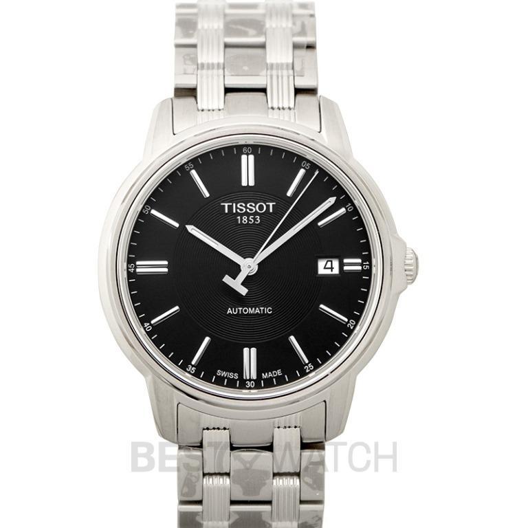 [NEW] Tissot T-Classic Automatics III Date Automatic Black Dial Men's Watch T065.407.11.051.00