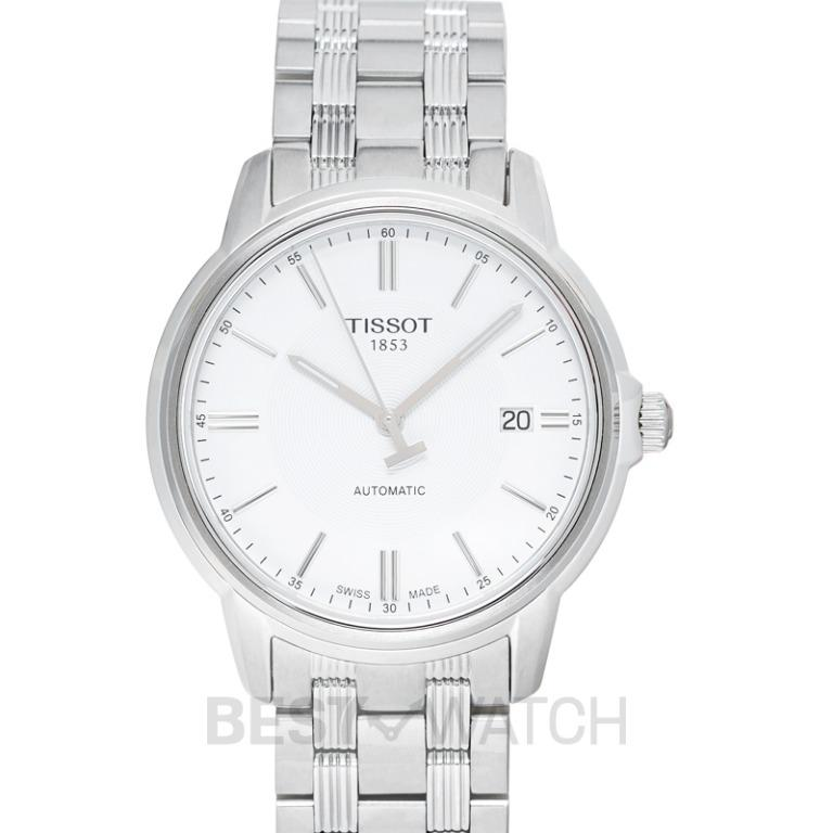 [NEW] Tissot T-Classic Automatics III Date Automatic White Dial Men's Watch T065.407.11.031.00
