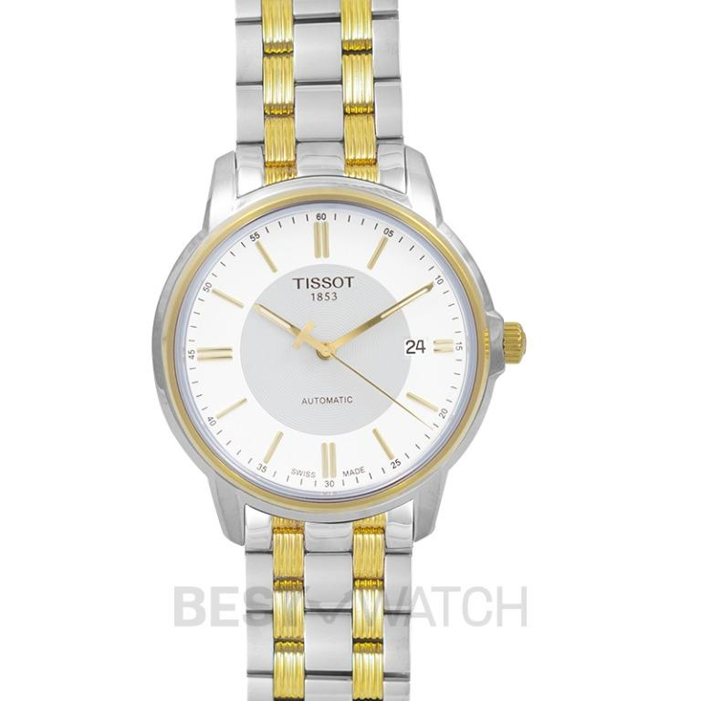 [NEW] Tissot T-Classic Automatics III Date Automatic White Dial Men's Watch T065.407.22.031.00